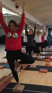 Christmas Yogi Trees @ the Body Training Studio